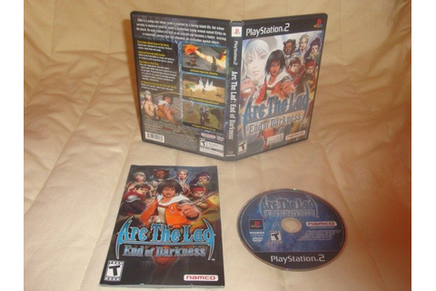 Arc the Lad: End of Darkness (2004) by Cattle Call PS2 game