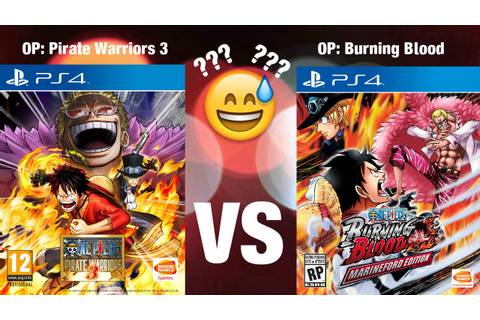Best One Piece Game for the PS4?? | Pirate Warriors 3 ...