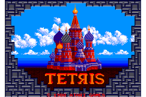 Tetris arcade video game by Atari Games (1988)