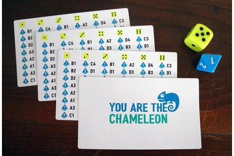 'The Chameleon' Board Game Confirms Your Friends Are All Liars