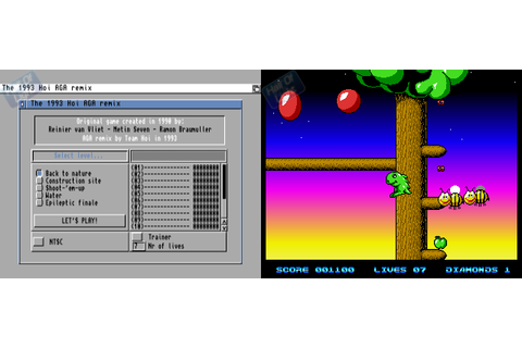 Hoi Remix : Hall Of Light – The database of Amiga games