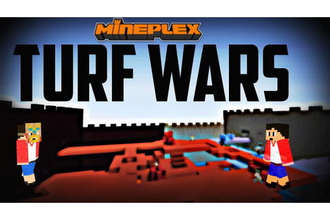 Mineplex: Turf Wars! Epic Games + Montage - YouTube