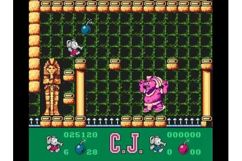 NES CJ's Elephant Antics (W) Longplay - YouTube