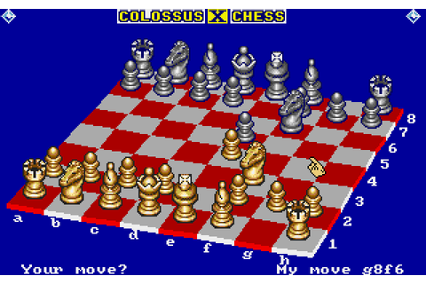 Colossus Chess X (1989) by CDS Software Amiga game