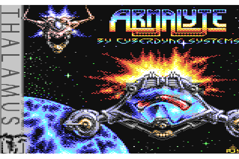 Armalyte (1988) by Cyberdyne Systems C64 game