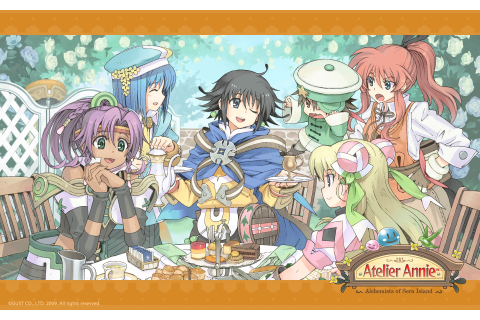 Atelier Annie Alchemists of Sera Island Wallpaper 014 ...