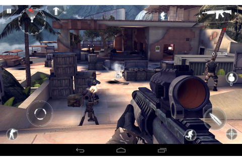 Modern Combat 4 Zero Hour Gameplay 2 - AndroidTapp