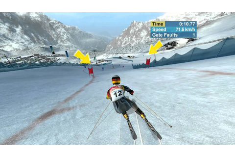 Torino 2006 Alpine Skiing PC Gameplay - YouTube