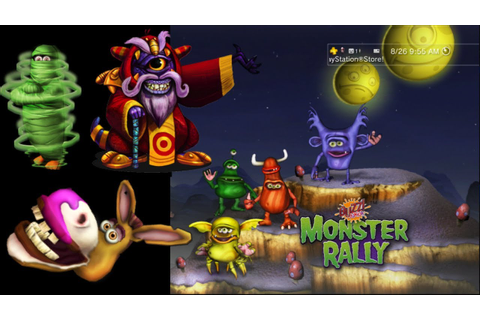 Buzz Junior - Monster Rally - PS3 Classic Game - YouTube
