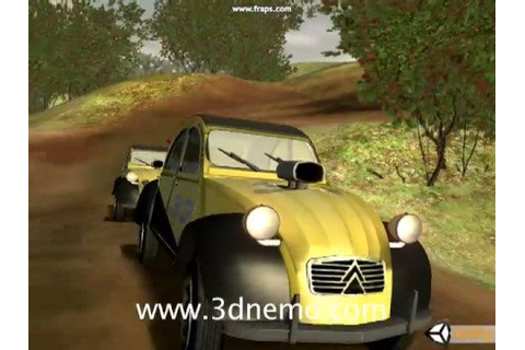 Citroen 2CV Arena - Unity Game Engine - YouTube
