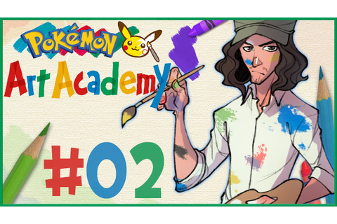Pokemon Art Academy Gameplay | Part 2 - YouTube