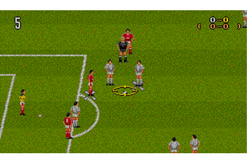Manchester United Europe (1992) by Krisalis MS-DOS game