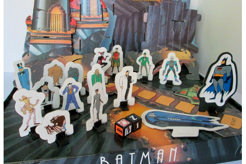 Batman the Animated Series1992 Parker Brothers Superheroes 3D