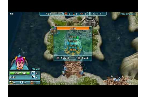Mytran Wars [PSP] - YouTube