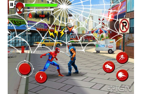 DeviL's Android Zone: Ultimate Spiderman: Total Mayhem HD