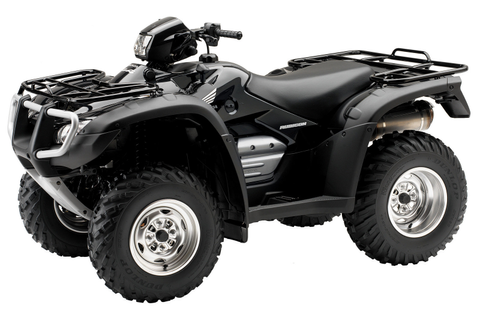 2006 Honda FourTrax Foreman Rubican GPScape Review - Top Speed