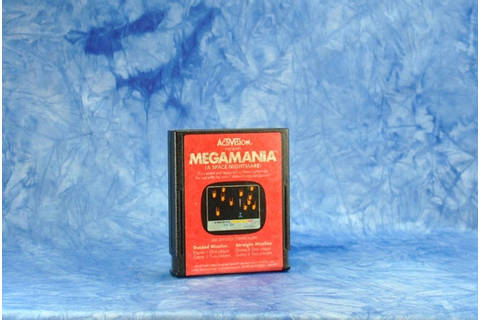 Vintage Atari 2600 Megamania Game From by winterparkcollect