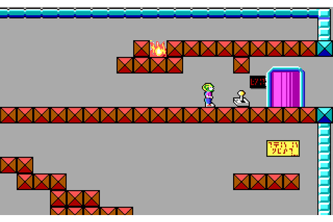 "Скриншоты Commander Keen in ""Invasion of the Vorticons ..."
