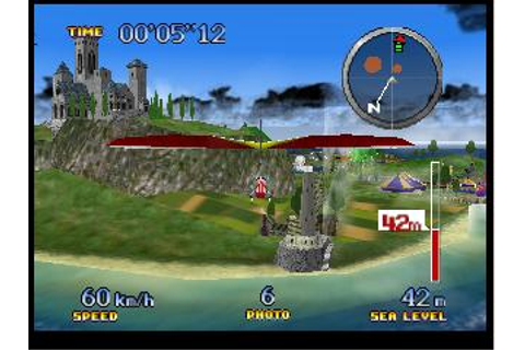 Pilotwings 64 Nintendo 64 Game