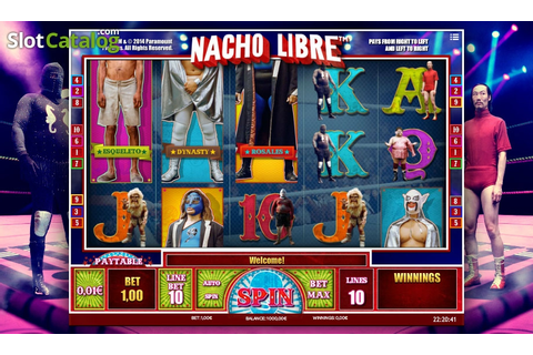 Nacho Libre Slot ᐈ Claim a bonus or play for free!