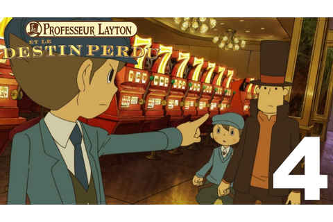 [Let's Play] Professeur Layton et Le Destin Perdu (DS) - 4 ...