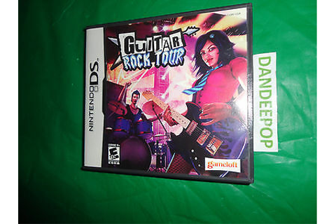 Nintendo DS Video Game Guitar Rock Tour 897290002032 | eBay