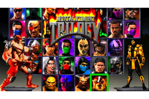 Mortal Kombat Trilogy Review - Best Of The Classics - YouTube