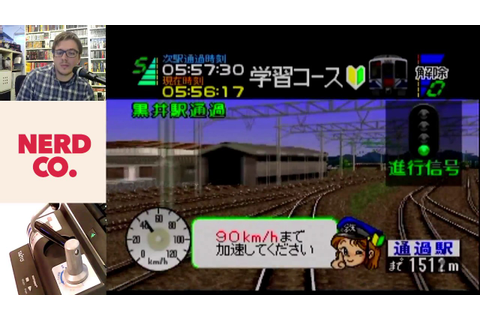 Nerd Co. - Densha De Go! 64 - YouTube