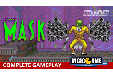 The Mask (Super Nintendo) Complete Gameplay - YouTube