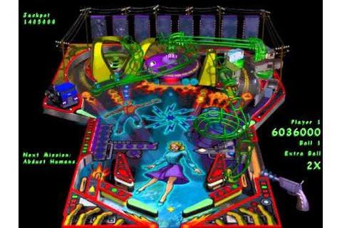 Full Tilt! 2 Pinball - Alien Daze (Gameplay) - YouTube