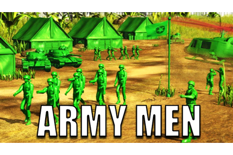 ARMY MEN Game! Plastic Green Army Men Battle Simulator ...