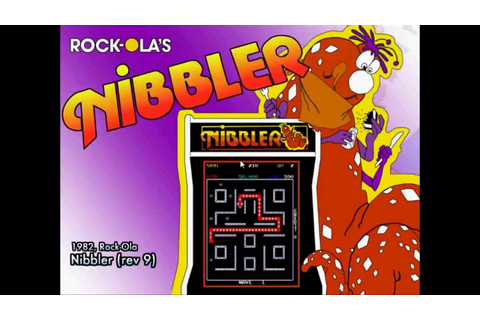 Nibbler arcade game theme for HyperSpin - YouTube