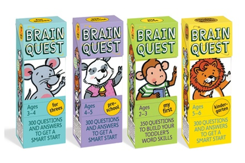 Up To 24% Off on Brain Quest Kids' Q&A Game | Groupon Goods