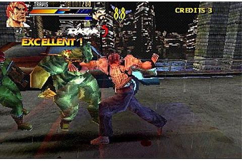 Screens: Gekido: Urban Fighters - PlayStation (5 of 13)
