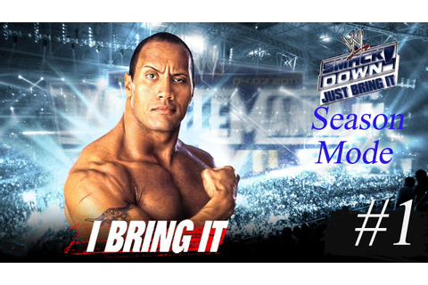 WWF Smackdown! Just Bring It Season Mode Part 1 - YouTube