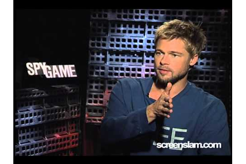 Spy Game: Brad Pitt Interview - YouTube