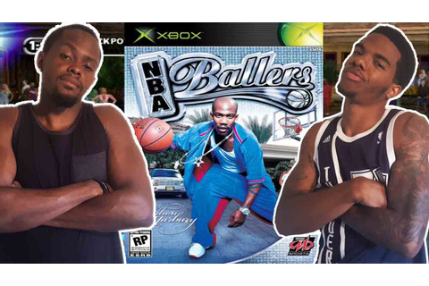 CLASSIC VIDEO GAME RIVALRY! - NBA Ballers (Xbox) | # ...