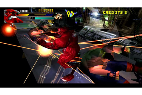 Gekido Urban Fighters PLay As Akujin Boss HAck Psx - YouTube