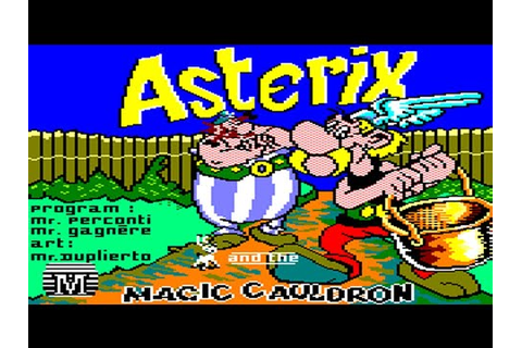 [Amstrad CPC] Asterix And The Magic Cauldron - Longplay ...