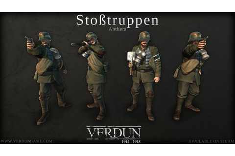 Verdun - Stoßtruppen Squad Anthem - YouTube