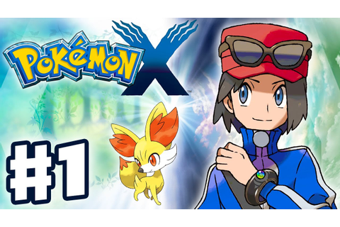Pokemon X and Y - Gameplay Walkthrough Part 1 - Intro and ...