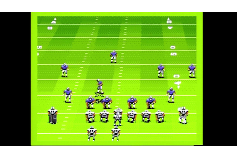 John Madden Football 92 Full Championship Game Gameplay ...
