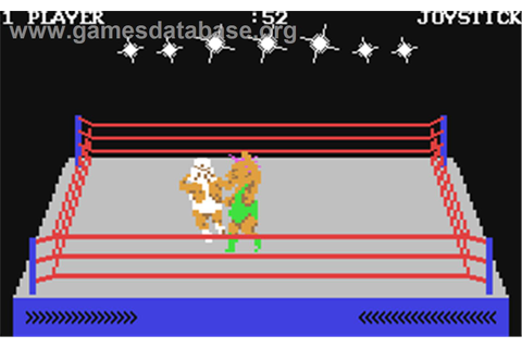 Rock'n Wrestle (Commodore 64) | Video Games | Pinterest