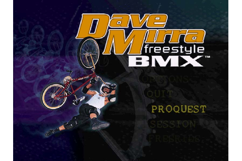 Dave Mirra Freestyle BMX (Portable) | X Game Mania