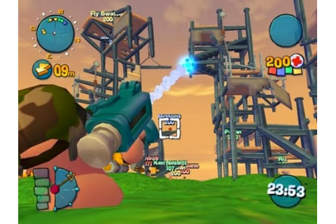 Worms 4 Mayhem Game - Free Download Full Version For Pc