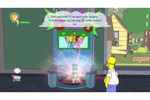 The Simpsons Game (Xbox 360) - Level 2: Bartman Begins ...