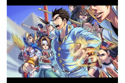 Rival Schools & Project Justice - My 2 favorite Capcom ...