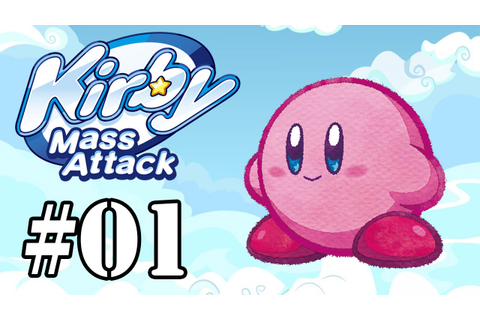 Let's Play: Kirby Mass Attack - Parte 1 - YouTube