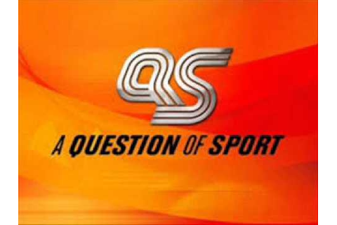 A Question Of Sport (Intro) - YouTube