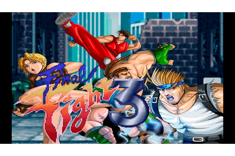 Final Fight 3 (Alberto Blaze) Classic -Snes- Game ...